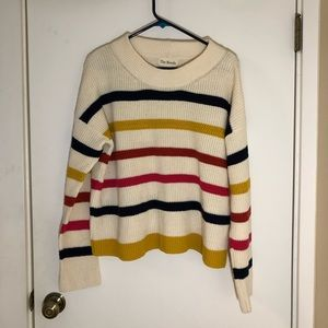 """J.Crew """"The Reeds"""" striped sweater"""
